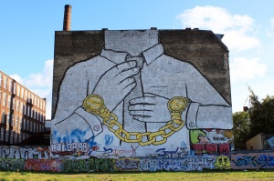 Street Art In Berlin BLU 3