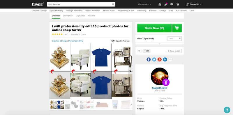 Produktfotos machen lassen