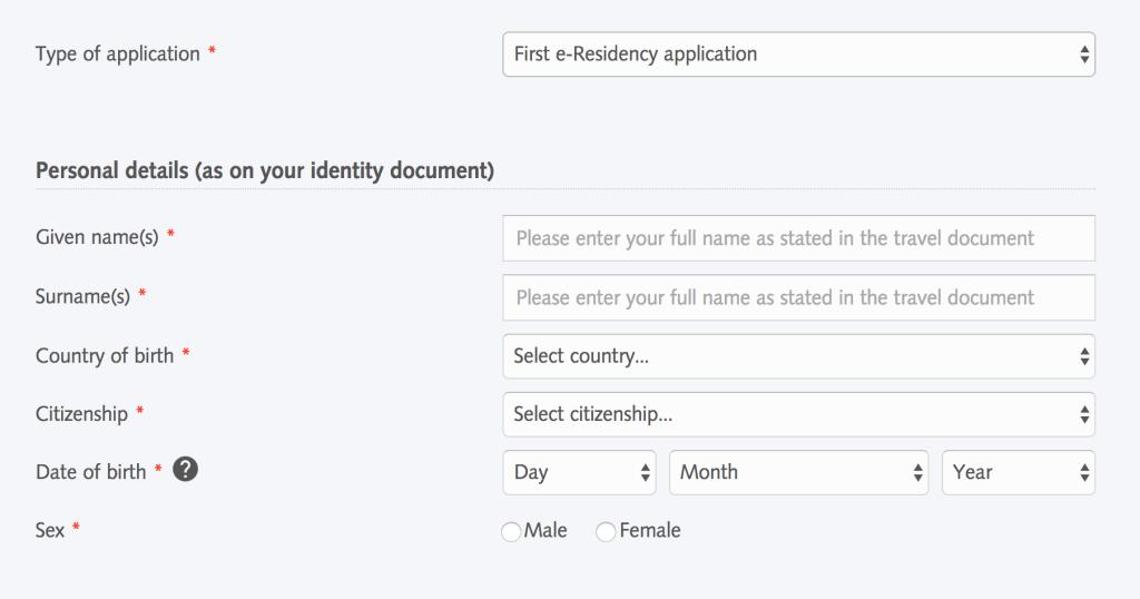 Estland e-residency
