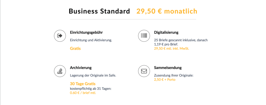 Digitalkasten Flatrate Business