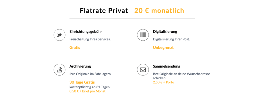 Digitalkasten Flatrate Privat